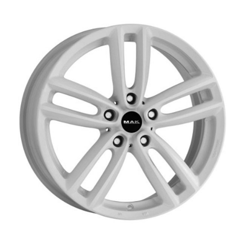 MAK OXFORD GLOSS WHITE CB72.60 8X19 5X120 ET50